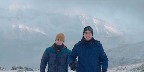 Winter, Jacket, Slope, Freezing, Snow, Glacial landform, Ice cap, Adventure, Tundra, Fell,