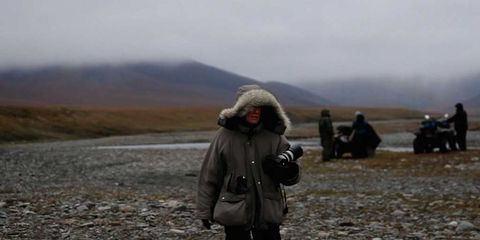 Highland, Landscape, Winter, Hill, Atmospheric phenomenon, Travel, Mountain range, Jacket, Wilderness, Fell,