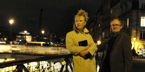 Night, Street light, Midnight, Street fashion, Guard rail, Fence,