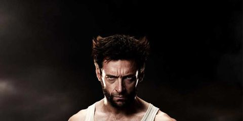 Arm, Chest, Muscle, Beard, Trunk, Animation, Fictional character, Facial hair, Barechested, Acting,