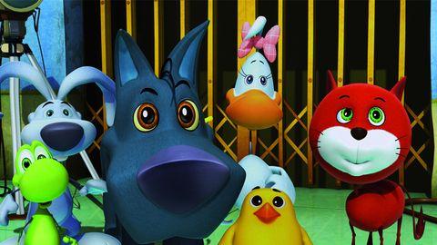 rubber ducky, Beak, Animation, Cartoon, Bath toy, Bird, Snout, Toy, Animated cartoon, Ducks, geese and swans,