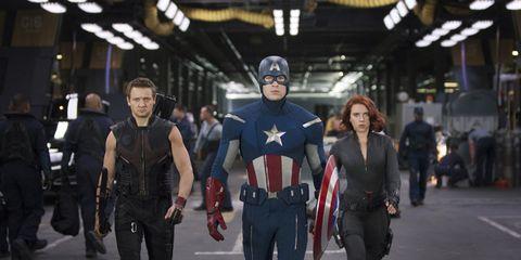 Fictional character, Superhero, Costume, Fashion, Hero, Spandex, Pedestrian, Cosplay, Tights, Costume design,