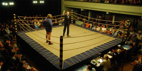 Sport venue, Combat sport, Contact sport, Competition event, Striking combat sports, Boxing ring, Audience, Championship, Individual sports, Competition,