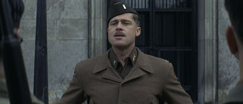 Clothing, Soldier, Collar, Sleeve, Cap, Military uniform, Standing, Dress shirt, Coat, Outerwear,