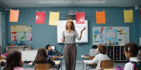Classroom, Class, Education, Private school, Teacher, Room, Learning, School, State school, Building,