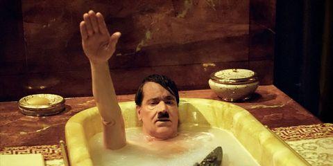 Finger, Hand, Fluid, Bathing, Chest, Barechested, Jacuzzi, Ceramic, Thumb, Foam,