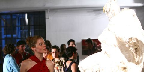 Fashion design, Sculpture, Natural material, Ice,