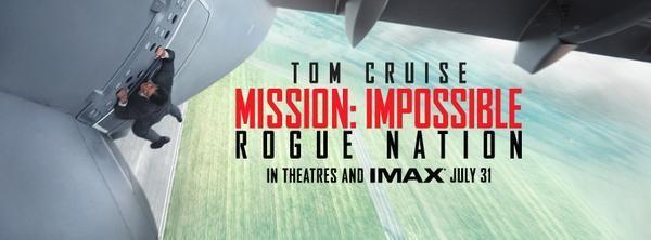 Primer tráiler de 'Misión: Imposible 5'