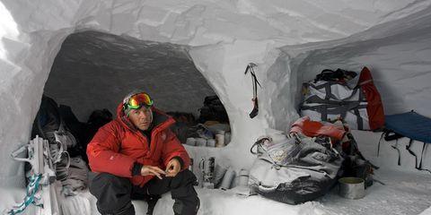 Winter, Freezing, Snow, Ice, Ice cap, Glacial landform, Outdoor recreation, Adventure, Glacier cave, Geological phenomenon,