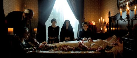 Lighting, Interior design, Interior design, Curtain, Lamp, Candle, Nativity scene, Window treatment, Flesh,