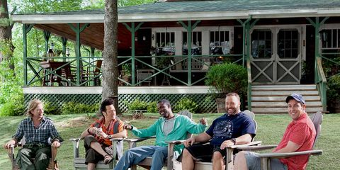 Sitting, Leisure, Musical instrument, Porch, House, Lap, Outdoor furniture, Lawn, Spring, Cottage,