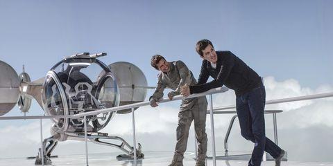 Workwear, Machine, Engineering, Employment, Aircraft engine, Job, Aerospace engineering, Boot, Crew,