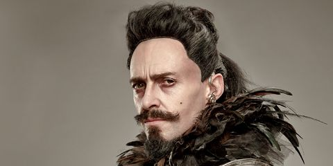 Hair, Facial hair, Hairstyle, Beard, Jaw, Moustache, Portrait photography, Portrait, Viking, Acting,