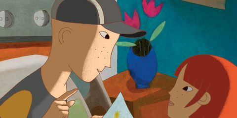 Animation, Art, Interaction, Animated cartoon, Artwork, Painting, Illustration, Paint, Art paint, Drawing,
