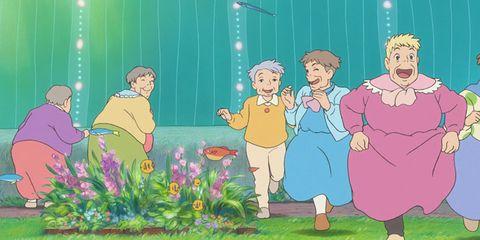 People, People in nature, Interaction, Animation, Sharing, Art, Cartoon, Conversation, Illustration, Fiction,
