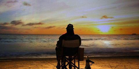 Dusk, Sunset, Sunrise, Horizon, Evening, Sunlight, Afterglow, Beach, Shore, Ocean,