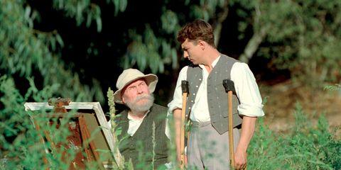 People in nature, Beard, Sun hat, Fedora, Shotgun, Boot, Farmer,
