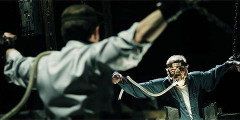 Gesture, Conductor, Baton, Acting, Cuff, Bandleader, Official, Tuxedo, Martial arts uniform,