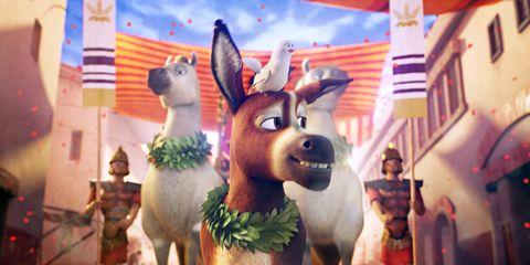 Animated cartoon, Animation, Burro, Fun, Snout, Fawn, Livestock, Art, Illustration, Games,