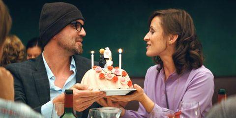 Lighting, Serveware, Cake, Sweetness, Dessert, Tableware, Birthday candle, Cuisine, Baked goods, Food,