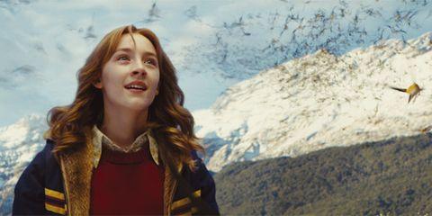 Jacket, Travel, Beauty, Mountain range, Street fashion, Long hair, Summit, Feathered hair, Brown hair, Valley,
