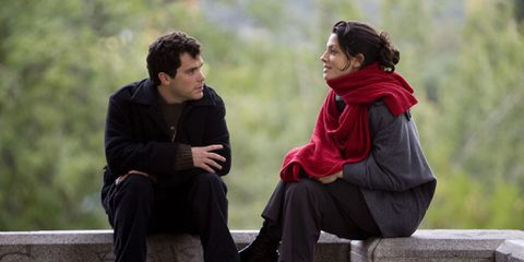Comfort, Sitting, People in nature, Interaction, Conversation, Scarf, Shawl, Lap, Love, Stole,