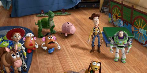 Toy, Animation, Baby toys, Animated cartoon, Dog breed, Figurine, Fiction, Fictional character, Animal figure,
