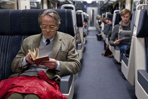 Transport, Comfort, Sitting, Passenger, Public transport, Couch, Travel, Lap, Reading, Living room,
