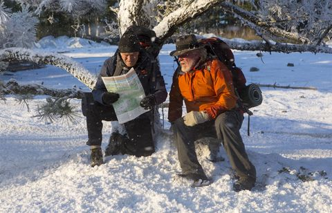 Winter, Freezing, Snow, Mammal, Outdoor recreation, Adventure, Glove, Bag, Geological phenomenon, Ice cap,