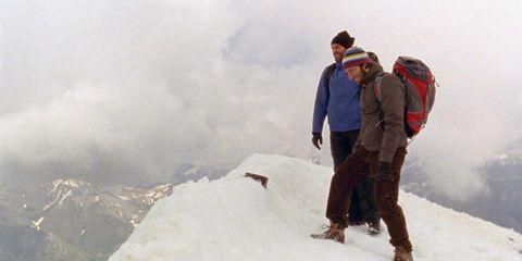 Winter, Snow, Freezing, Adventure, Ice cap, Travel, Mountaineer, Glacial landform, Geological phenomenon, Slope,