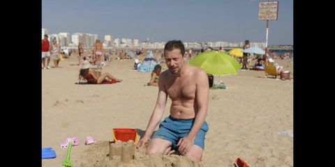 Sand, Fun, Barechested, Summer, Beach, Tourism, People on beach, Shorts, Holiday, Vacation,