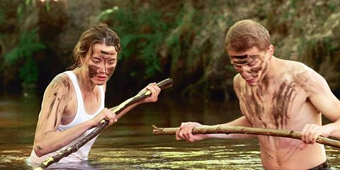 People in nature, Temple, Paddle, Watercraft rowing, Boats and boating--Equipment and supplies, Water transportation, Wetland, Mud, Boating, Bayou,