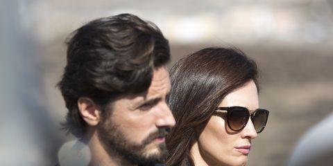 Eyewear, Glasses, Nose, Ear, Vision care, Hairstyle, Sunglasses, Facial hair, Style, Beard,