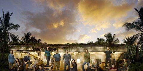 Cloud, Arecales, Palm tree, Paint, Painting, Tropics, Village,