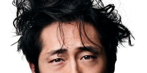 Hair, Face, Chin, Forehead, Eyebrow, Hairstyle, Facial hair, Nose, Head, Cheek,