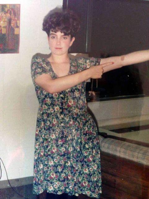 Shoulder, Dress,