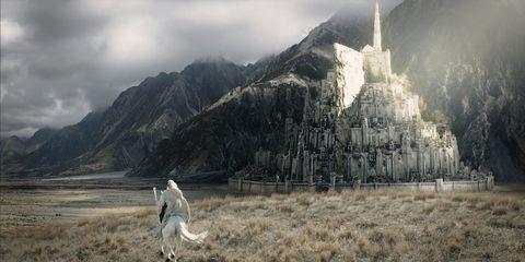 Mountain, Terrain,