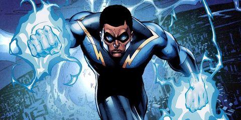 Fictional character, Superhero, Animation, Hero, Art, Guitar, Cartoon, Illustration, Batman, Graphic design,