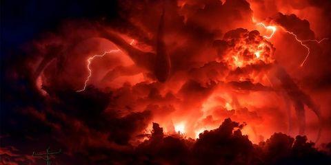 Sky, Cloud, Evening, Horizon, Road, Sunset, Photography, Vehicle, Explosion, Highway,