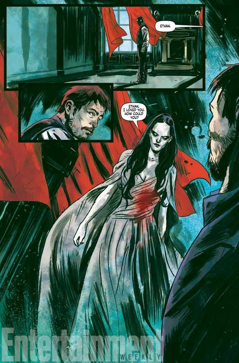 Vanessa Ives regresa en el cómic de 'Penny Dreadful'