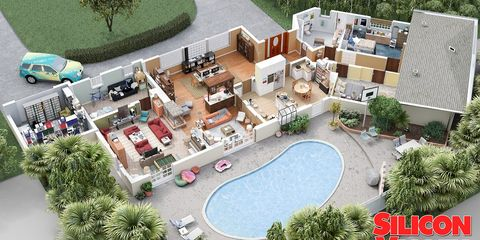 Property, Real estate, Urban design, Residential area, Roof, Mixed-use, Swimming pool, Garden, Aerial photography, Yard,