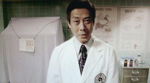 White coat, Uniform, White-collar worker, Jaw,
