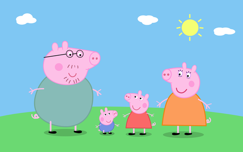 Organism, Pink, Snout, Cartoon, Animation, Animated cartoon, Clip art, Graphics, Illustration, Suidae,