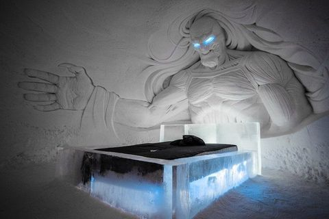 Ice hotel, Art, Visual arts, Sculpture,