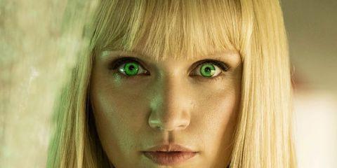 Nose, Mouth, Lip, Green, Hairstyle, Skin, Eye, Chin, Eyebrow, Eyelash,