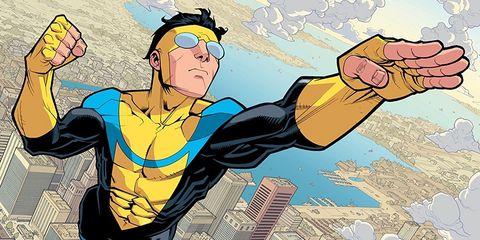 Cartoon, Fictional character, Fiction, Illustration, Superhero, Comics, Hero,