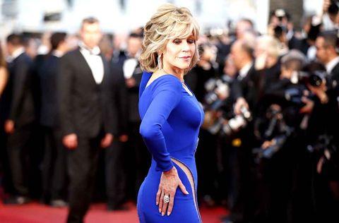 Outerwear, Coat, Dress, Formal wear, Premiere, Suit, Fashion, Electric blue, Cobalt blue, Carpet,