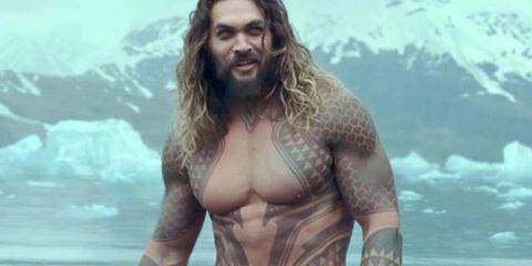 Chest, Human, Muscle, Barechested, Aquaman, Arm, Screenshot, Fictional character, Mythology, Photography,