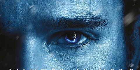 Face, Blue, Text, Eye, Head, Organ, Close-up, Human, Sky, Darkness,