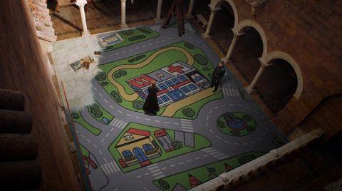 Scale model, Sport venue, Urban design, Games, Stadium,